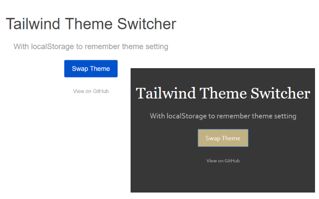 Tailwind Theme Switcher