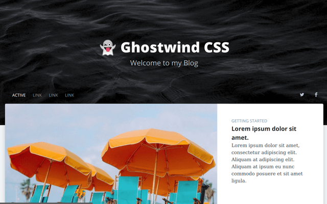 Ghostwind Blog Homepage